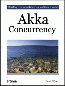 Akka Concurrency Book Cover